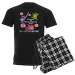 Mamby Pamby Land Jackwagon Pa Men's Dark Pajamas