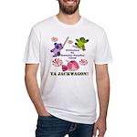 Mamby Pamby Land Jackwagon Pa Fitted T-Shirt