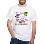 Mamby Pamby Land Jackwagon Pa White T-Shirt