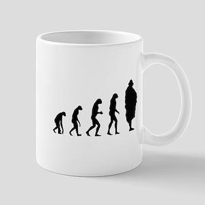 Evolution Sumo wrestler Mug