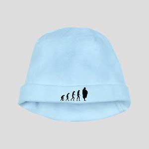 Evolution Sumo wrestler baby hat