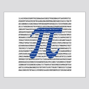 1000 Digits of Pi Small Poster