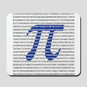 1000 Digits of Pi Mousepad