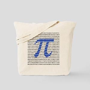 1000 Digits of Pi Tote Bag