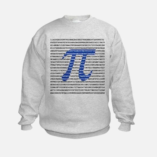 1000 Digits of Pi Sweatshirt