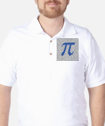 1000 Digits of Pi Golf Shirt
