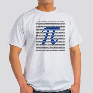 1000 Digits of Pi Light T-Shirt