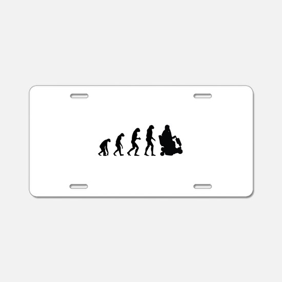 Evolution Aluminum License Plate