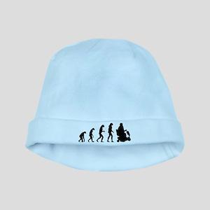 Evolution baby hat