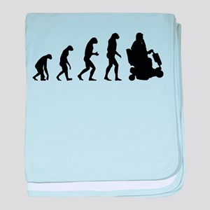 Evolution baby blanket