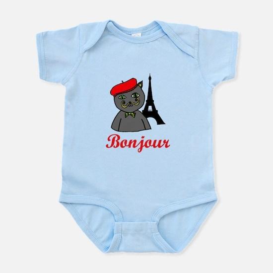 Bonjour Paris Infant Bodysuit