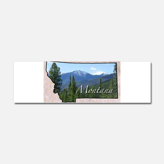 Cute Montana Car Magnet 10 x 3