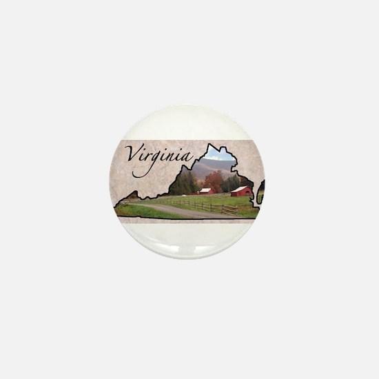 Cute Virginia Mini Button