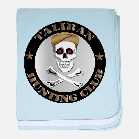 Emblem - Taliban Hunting Club baby blanket