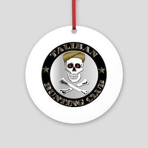 Emblem - Taliban Hunting Club Ornament (Round)