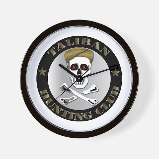 Emblem - Taliban Hunting Club Wall Clock
