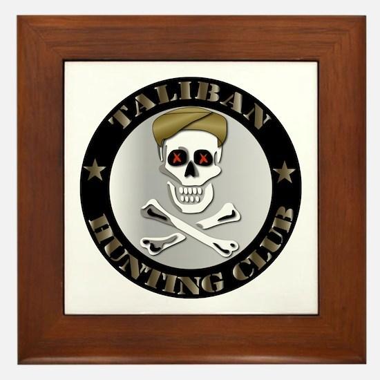 Emblem - Taliban Hunting Club Framed Tile
