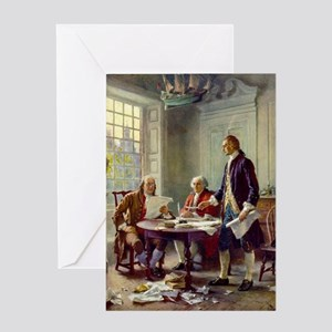 Founding Fathers Greeting Card