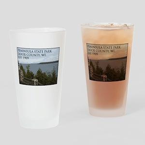 Peninsula State Park Drinking Glass