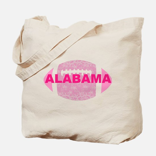 Alabama Football Pink Lace Tote Bag