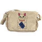 ManekiNeko Messenger Bag