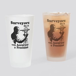 SurveyorsDoIt Drinking Glass