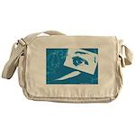 Chain Eye Messenger Bag