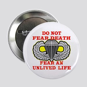 "Airborne; Do Not Fear Death 2.25"" Button"