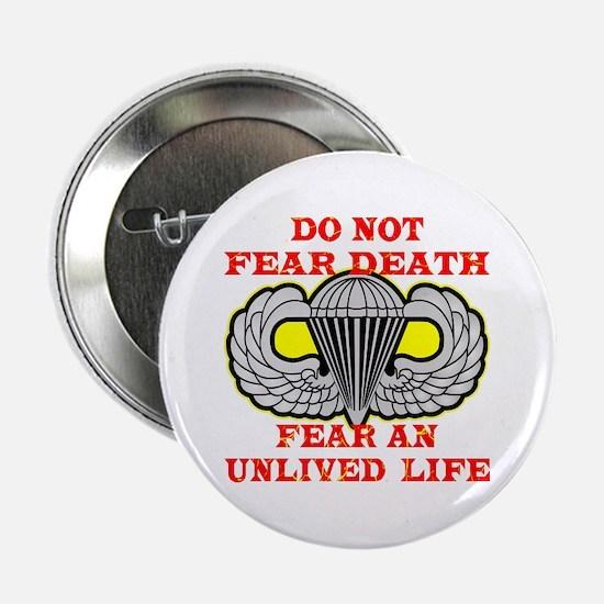 "Airborne; Do Not Fear Death 2.25"" Button"