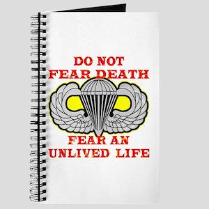 Airborne; Do Not Fear Death Journal