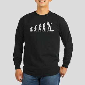 Evolution surfing Long Sleeve Dark T-Shirt