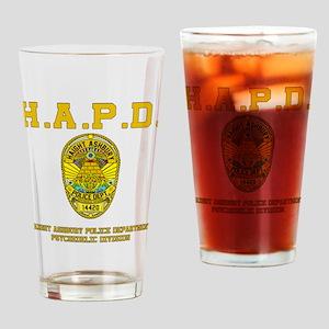 HAIGHT ASHBURY POLICE DEPT. Drinking Glass