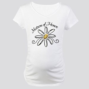 Matron of Honor Maternity T-Shirt