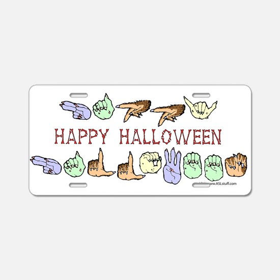 HalloweenCC Aluminum License Plate