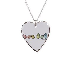 Pastel SIGN BABY Necklace