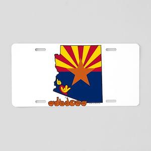 ILY Arizona Aluminum License Plate