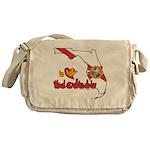 ILY Florida Messenger Bag