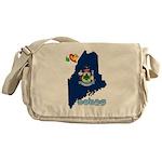 ILY Maine Messenger Bag
