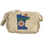 ILY Minnesota Messenger Bag