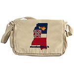 ILY Mississippi Messenger Bag