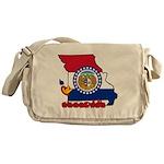 ILY Missouri Messenger Bag
