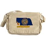 ILY Nebraska Messenger Bag