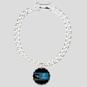 ILY Oklahoma Charm Bracelet, One Charm