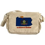 ILY Pennsylvania Messenger Bag