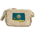 ILY South Dakota Messenger Bag