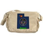 ILY Utah Messenger Bag