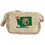 ILY Washington Messenger Bag