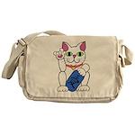 ILY Neko Cat Messenger Bag
