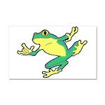 ASL Frog in Flight Car Magnet 20 x 12