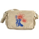 ILY Fireworks Liberty Messenger Bag